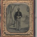 LJTP 100.018 - 'Alabama' Jim Sutton, 12th Tennessee Cavalry (Union) - c.1864