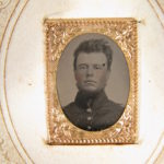 LJTP 100.021.01 - 2nd Lt John Wright - 10th Iowa Infantry - c.1861
