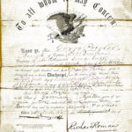 LJTP 200.011 - Discharge Papers of George Pregler – 9th Iowa Infantry - 1864