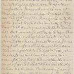 LJTP 200.021 - George W. Jones life biography letter to W.C. Stevenson - 1895