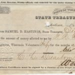 LJTP 400.003 - 7th Wisconsin Regiment Pay Slip