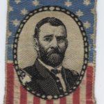 LJTP 700.005 - General U.S. Grant Presidential Campaign Ribbon - 1868