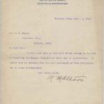 LJTP 200.027 - U.S. Senator Wm. B. Allison to O.S. Mahon - 1901