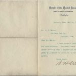 LJTP 200.028 - U.S. Senator Wm. B. Allison to O.S. Mahon - 1904