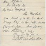 LJTP 200.033 - U.S. Rep David B. Henderson to B.J. Hall - 1888