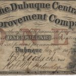 LJTP 400.010 - Dubuque Central Improvement Company $1 Note