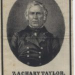 LJTP 700.006 - President Zachary Taylor Memorial Ribbon - 1850