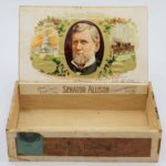 LJTP 700.010 - Senator Allison Cigar Box - c1896