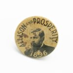 LJTP 700.012 Allison and Prosperity Campaign Button - 1896