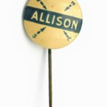 LJTP 700.013 - William B. Allison Campaign Pin - c.1902