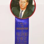 LJTP 700.016 - President Kennedy Inauguration Ribbon - 1961