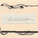 LJTP 800.012 - U.S. Grant - Signature - c.1866