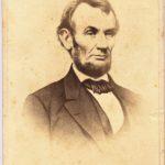 LJTP 100.066 - Abraham Lincoln Memorial CDV - circa 1865
