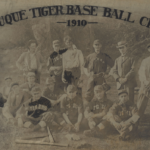 LJTP 100.067 - Dubuque Tigers with Red Faber - 1910