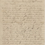 LJTP 200.034 - North West Base Ball Tournament Letter - 1865