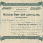 LJTP-400.014-Dubuque-Base-Ball-Association-Stock-Certificate-1895