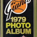 LJTP 600.003 - 1979 San Francisco Giants Photo Album Compliments Dubuque Plumpers - 1979