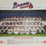LJTP 100.081.001 - Dubuque Plumpbers - Atlanta Braves Team - 1990