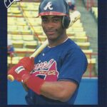 LJTP 100.097 - Ron Gant - Atlanta Braves - Dubuque Plumpers - 1989