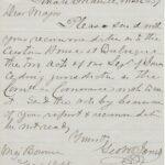 LJTP 200.038 - U.S. Sen. Geo. W. Jones to Maj. Bowman - 1857