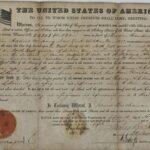 LJTP 200.039 - War of 1812 U.S. Land Grant - 1860