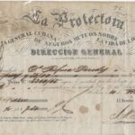 LJTP 200.048 - Cuban Slave Life Insurance Policy - 1856