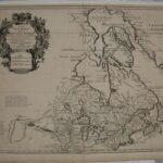 LJTP 500.012 - Carte Du Canada ou Dela Nouvelle France - 1708