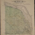 LJTP 500.016 - Plat of Peru Township - Dubuque County, Iowa - 1875
