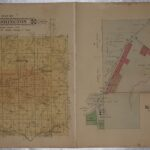 LJTP 500.019 - Plat of Washington Township and Key West, Dubuque County, Iowa - 1875
