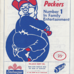LJTP 600.004 - Dubuque Plumpers Game Program - 1976