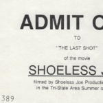 LJTP 700.024 - Last Seen Ticket - Shoeless Joe Movie - 1988