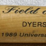 LJTP 700.027 - Field of Dreams Universal Studios Bat - 1989