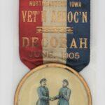 LJTP 700.034 - Annual Reunion Medal - NE Iowa Vet'n Assoc. - 1905