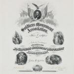 LJTP 800.015 - General Grant Jo Davies County Monument Certificate - 1865