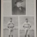 LJTP 100.030 - Charles Comiskey and Arlie Latham - 1888