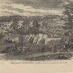 LJTP 100.114 - General Fremont's Camp by A. Simplot - circa 1861