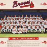 LJTP 100.080.001 - Dubuque Plumpers - Atlanta Braves Team - 1991