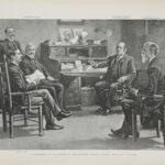 LJTP 100.130 - William Boy Allison - Harper's Weekly - 1896