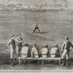 LJTP 100.143 - Match between Red Stockings and Atlantics - Harper's Weekly - 1870