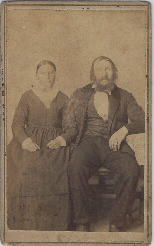 LJTP 100.152 - Samuel Root - Older Couple - c1860