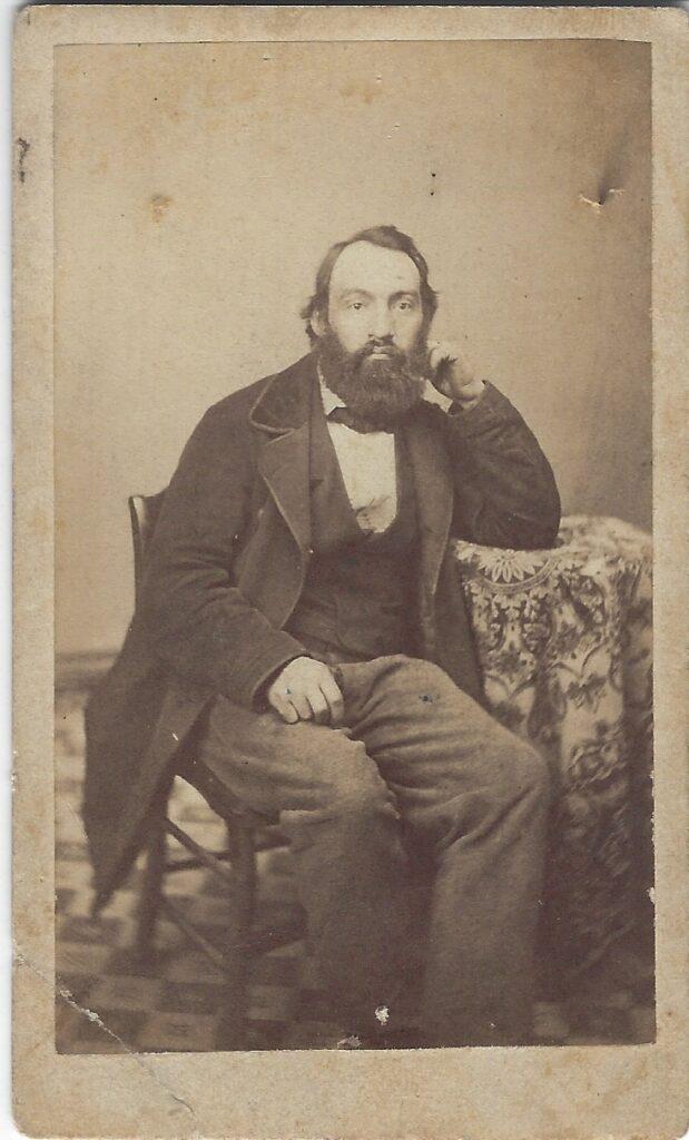 LJTP 100.154 - Samuel Root - Seated Gentleman - c1861