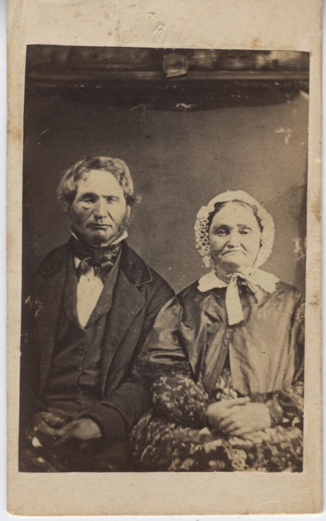 LJTP 100.164 - Samuel Root - Old Couple - c1865