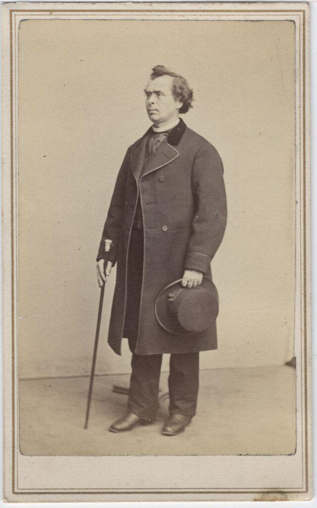 LJTP 100.167 - Samuel Root - Gentleman with Cane - c1867