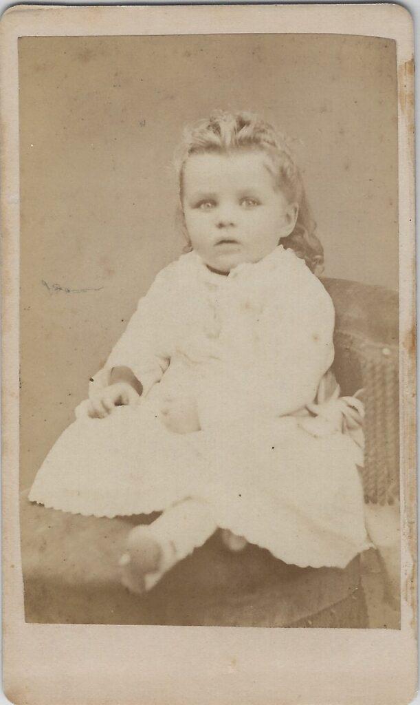 LJTP 100.169 - Samuel Root - Baby Girl - 1875