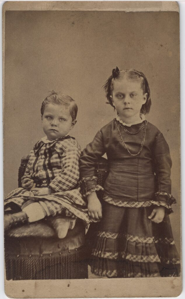 LJTP 100.172 - Samuel Root - Brother and Sister - c1880