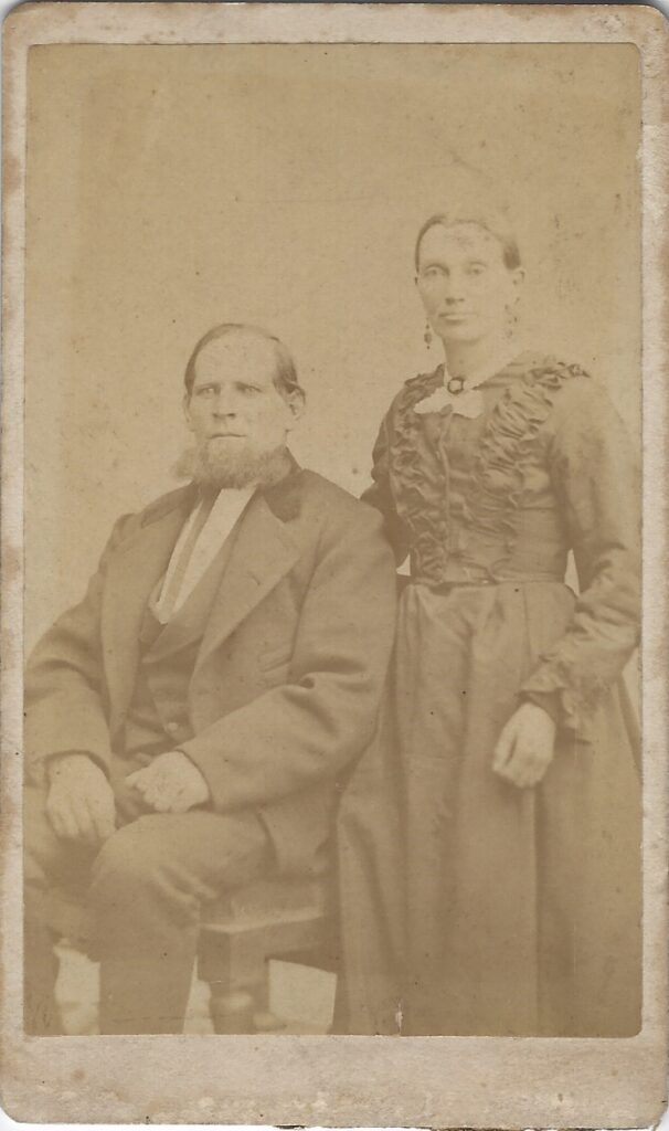 LJTP 100.186 - Samuel Root - Husband and Wife - c1880