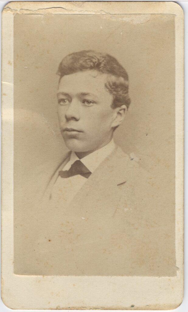 LJTP 100.175 - Samuel Root - Young Man - c1885