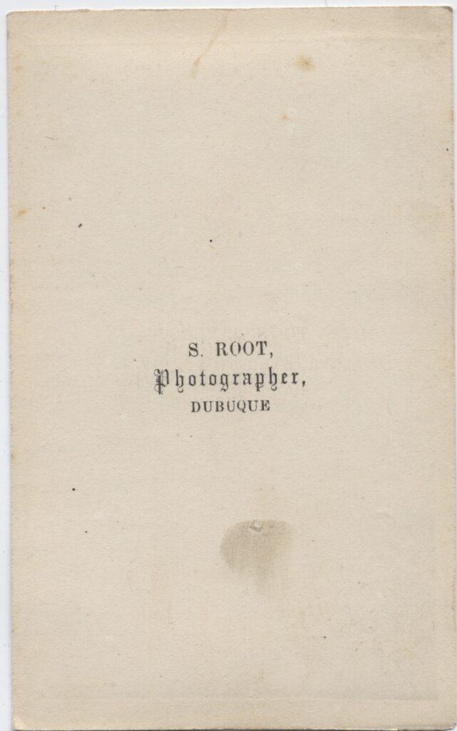 LJTP 100.185.001 - S. Roots Dog Dean - c.1865