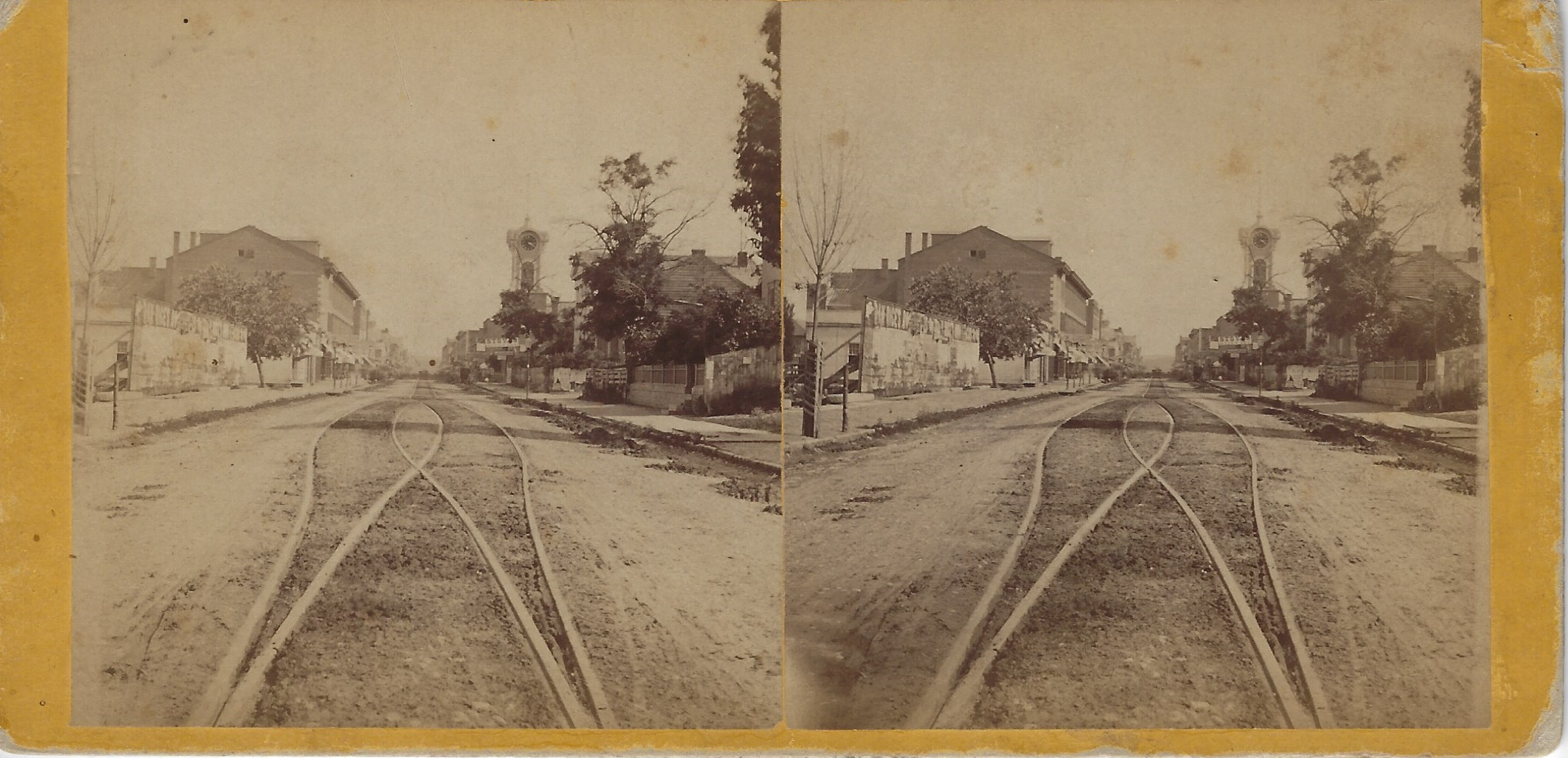 LJTP 100.222 - S. Root SMT - Main St. Looking South - c1869