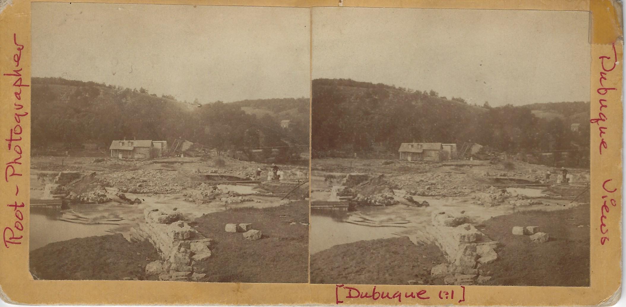 LJTP 100.235 - S. Root - Rockdale Flood - 1876